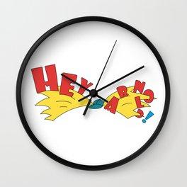 Hey Arnold Wall Clock