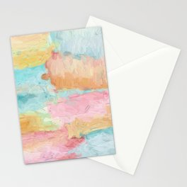 Abstract Watercolor - Design No.1 Stationery Cards