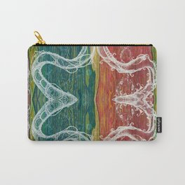 The Mutual Appreciation Paradox (Resistance of Magnetic Entanglement) (Reflection) Carry-All Pouch