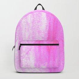 pink watercolor Backpack