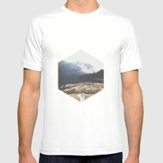 Italy Mens Fitted Tee White MEDIUM