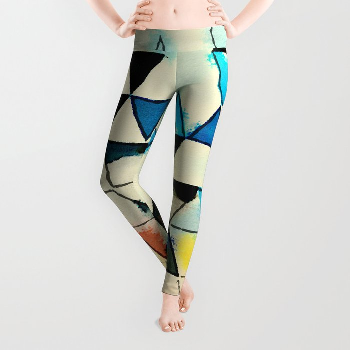 Geometric W1 Leggings