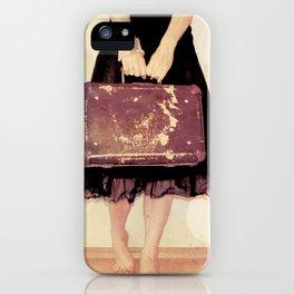Bon Voyage Mademoiselle iPhone Case