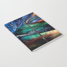 Painting Collage Notebook