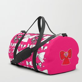Ribbon Doodles Duffle Bag