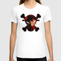 luffy T-shirts featuring BLOODY LUFFY by feimyconcepts05