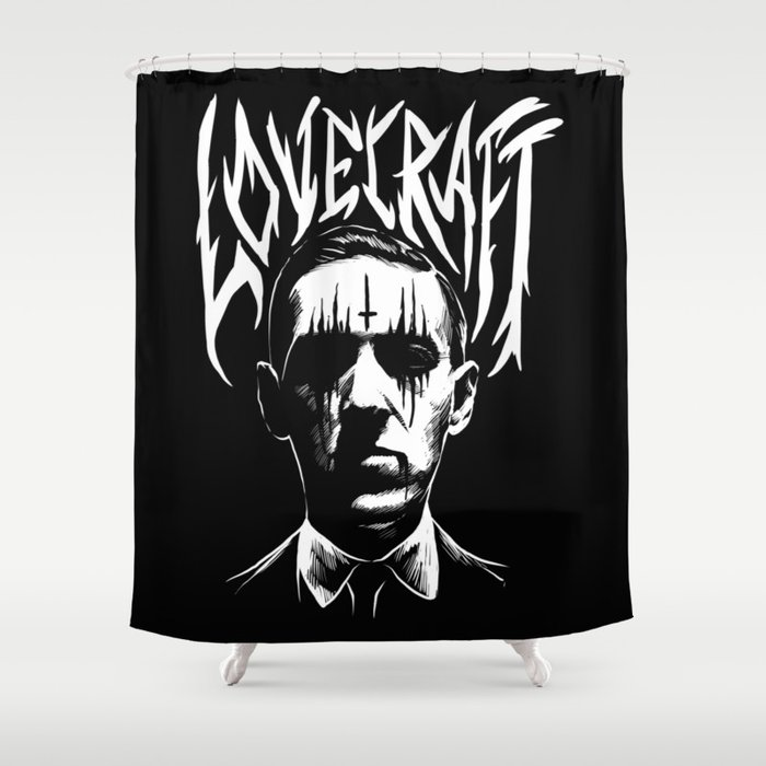 Lovecraft Metal Band Creator Of Cthulhu Shower Curtain