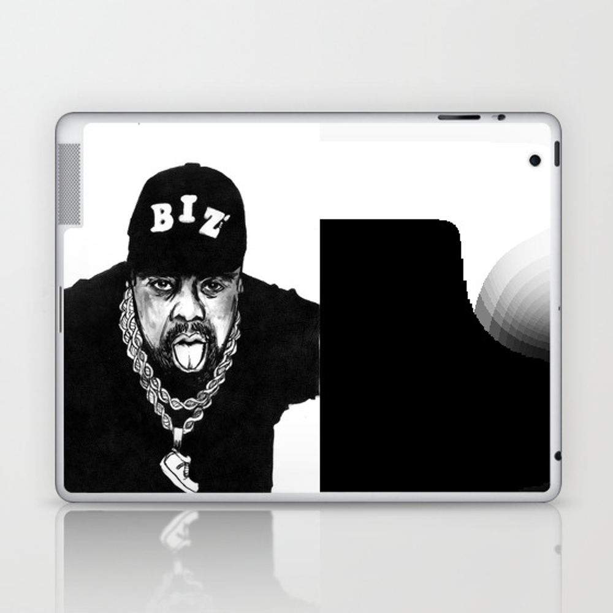 Nobody Beats The Biz Laptop & Ipad Skin by Zeruch LSK8990771