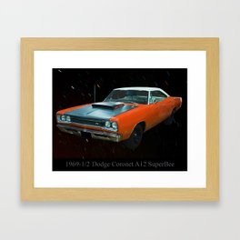 1969 1/2 Dodge Cornet A12 Superbee Framed Art Print