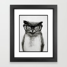 Mr. Owl Framed Art Print