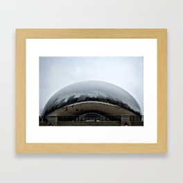 Cloud Gate Framed Art Print