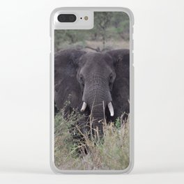 My Ears Are Burning Clear iPhone Case