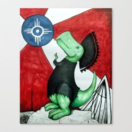 Tommy of the Plains Canvas Print