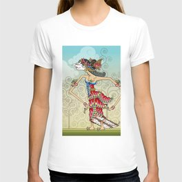 wayang Princess Srikandi T-shirt