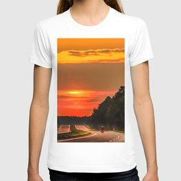 Road to the sun T-shirt