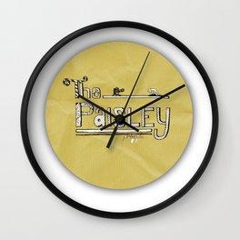 The Paisley Logo Wall Clock