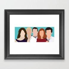 How I Met Your Mother Framed Art Print