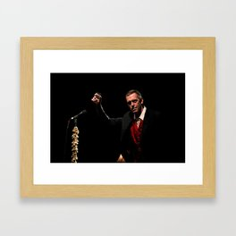 Hugh Laurie - II Framed Art Print