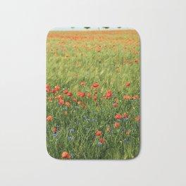 Field of Poppies Bath Mat