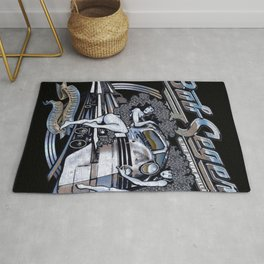 Bob Seger and The Silver Bullet Band Rug