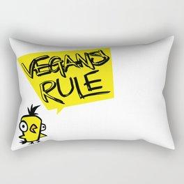 Vegans rule! Rectangular Pillow