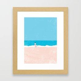 Beach 4 Framed Art Print