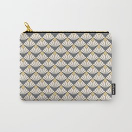 Deco flower pattern Carry-All Pouch