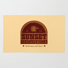 Sunset Sarsaparilla Rug