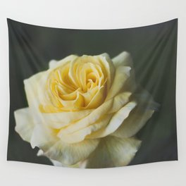 Yellow rose Wall Tapestry