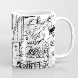 Traditional House in York, England Coffee Mug