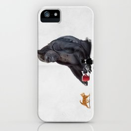 I Should, Koko (Wordless) iPhone Case