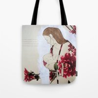 bond Tote Bags featuring Bond by Suzanna Schlemm