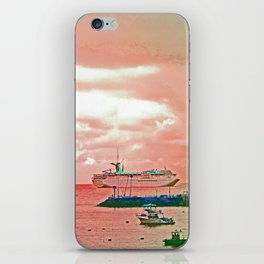 """""""Inspiration At Catalina"""" with poem: My Own Day iPhone Skin"""