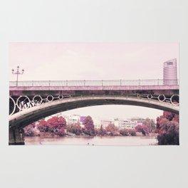 Pink mood at Triana Bridge Rug