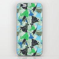 nouveau iPhone & iPod Skins featuring Nouveau Nouveau by Jacqueline Maldonado