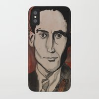 kafka iPhone & iPod Cases featuring Franz Kafka by Emily Storvold