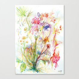Floral Spree Canvas Print