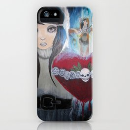 Water to the Flame iPhone Case