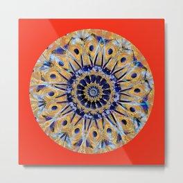 Colorful Mandala WD Metal Print