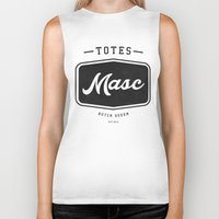 totes Biker Tanks featuring Totes Masc - Vintage by lessdanthree