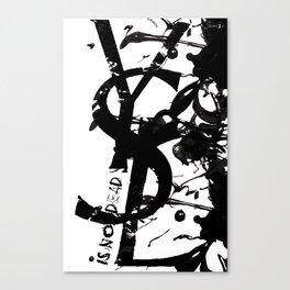 YSL is not dead colors urban fashion culture Jacob's 1968 Paris Agency Canvas Print