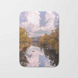 Fall Reflection Bath Mat