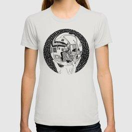 Escher - Self-portrait on a sphere T-shirt