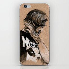 Zayn Charcoal sketch iPhone Skin