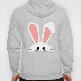 Blue Plaid Easter Bunny Hoody