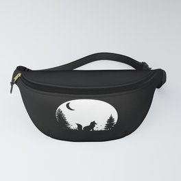 Fox Forest Moon Wilderness Nature Gift Fanny Pack