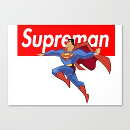 SUPREMAN Canvas Print