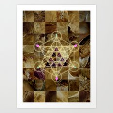 Divine Earth Art Print