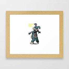 PSC - Happy Bunny Framed Art Print
