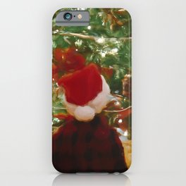 Santa Claus Is Coming To Town 4 #painting iPhone Case